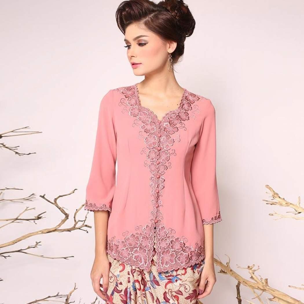 Desain Model Baju Kebaya Encim Modern