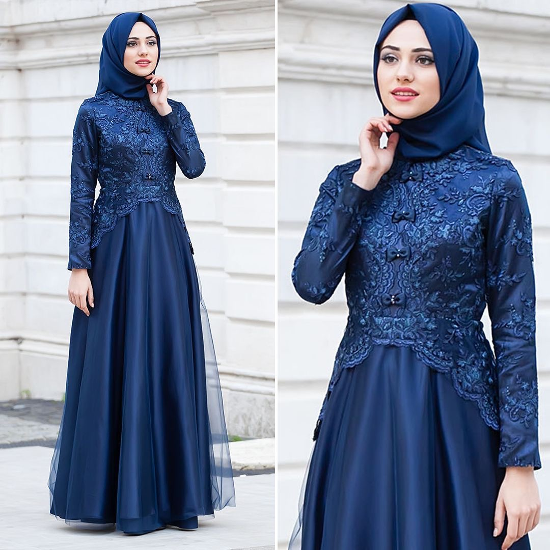 Dress Kebaya Brokat Modern