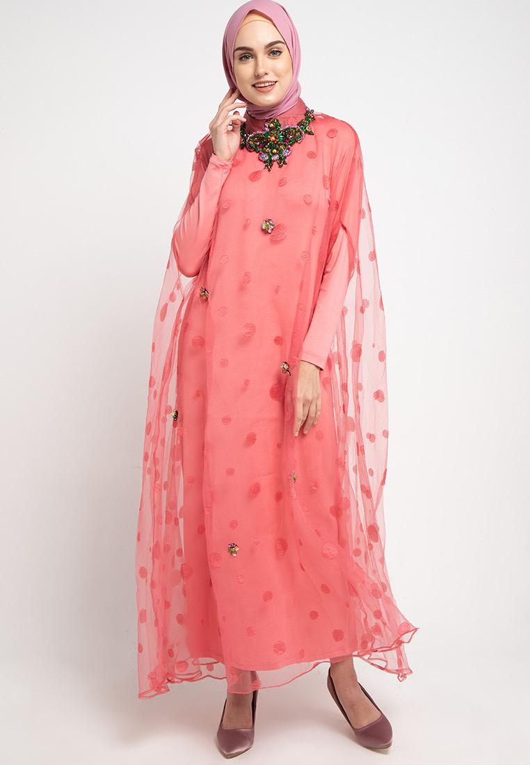 Kebaya Brokat Muslim Simple Elegan