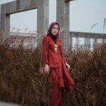 Kebaya Merah Hijab