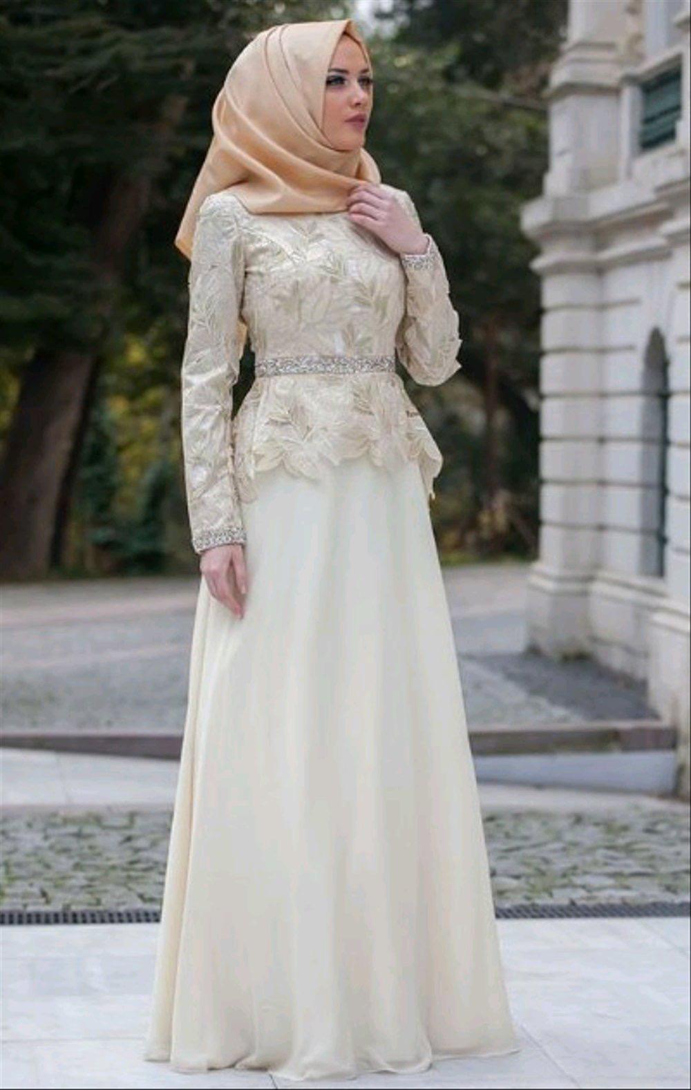 Kebaya muslim brokat long dress