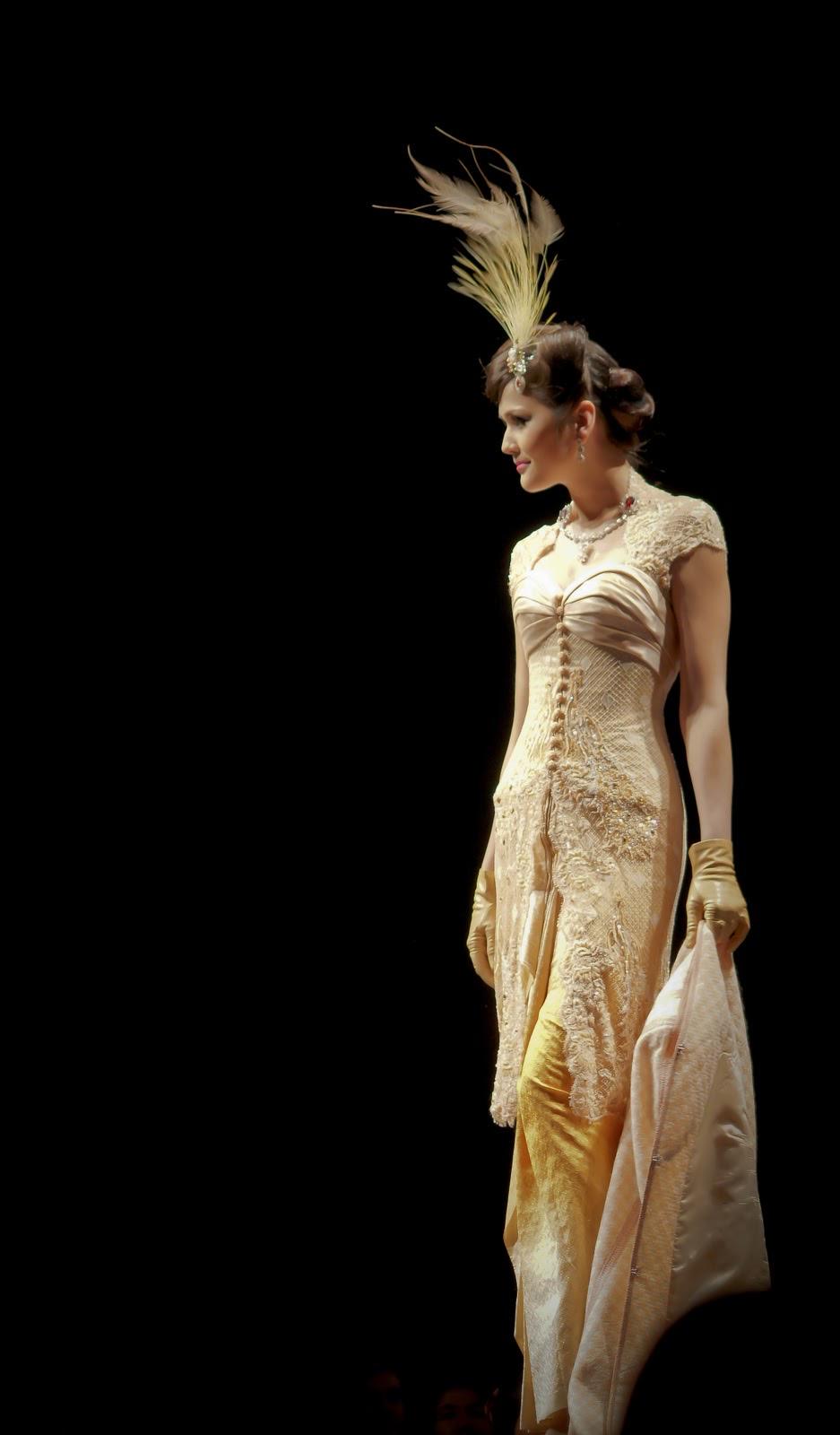 Model Kebaya Brokat Lengan Pendek