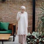 Model Kebaya Brokat Modern Muslim