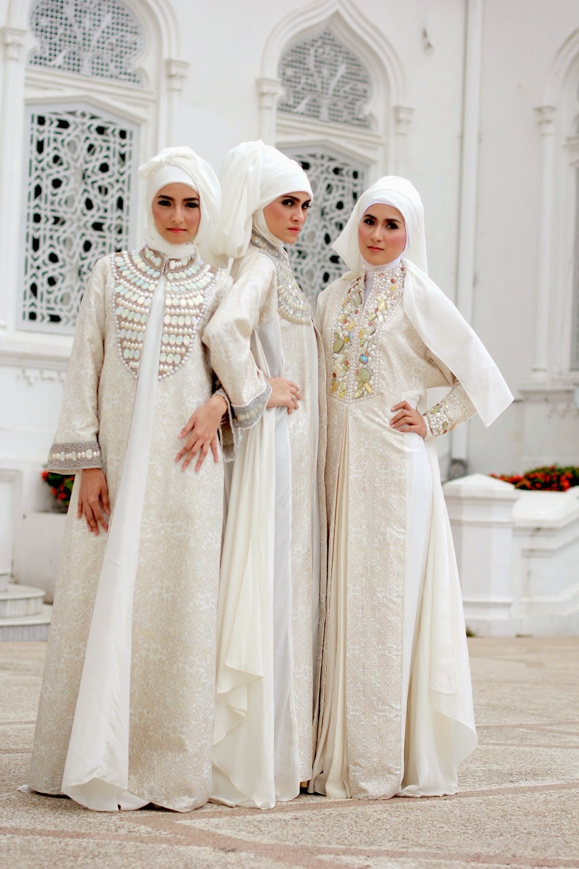 Model Kebaya Brokat Muslim Syar'i