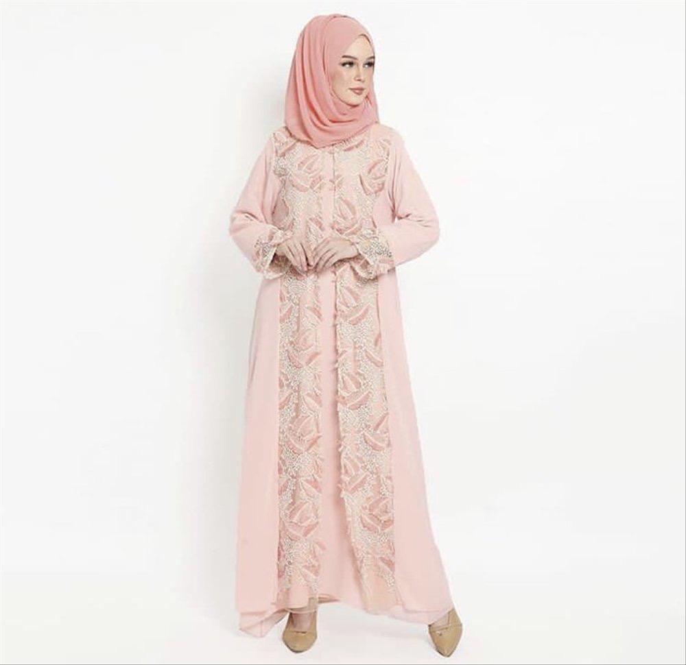 Model Kebaya Muslim Kombinasi