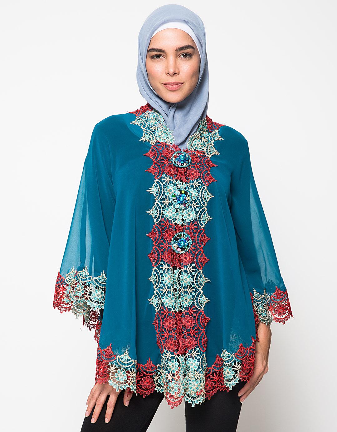 Model Kebaya Muslim Wisuda Terbaru