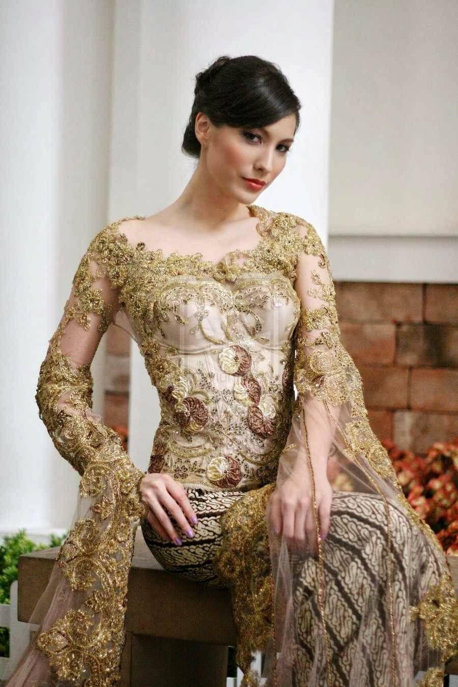 Baju Batik Kebaya Modern