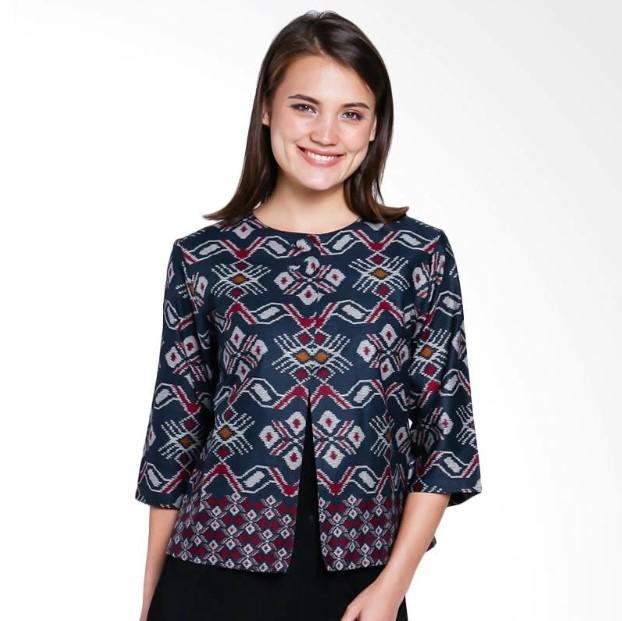 Baju Batik Kerja Model Blazer