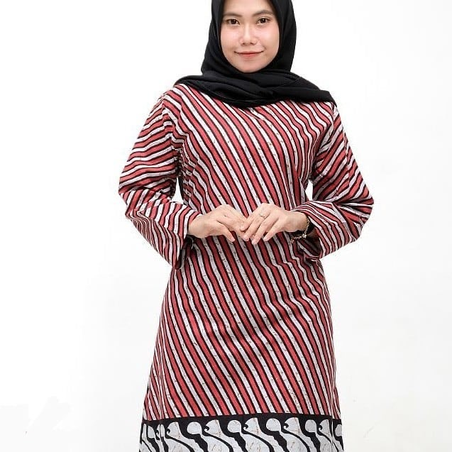 Baju Batik Model Tunik