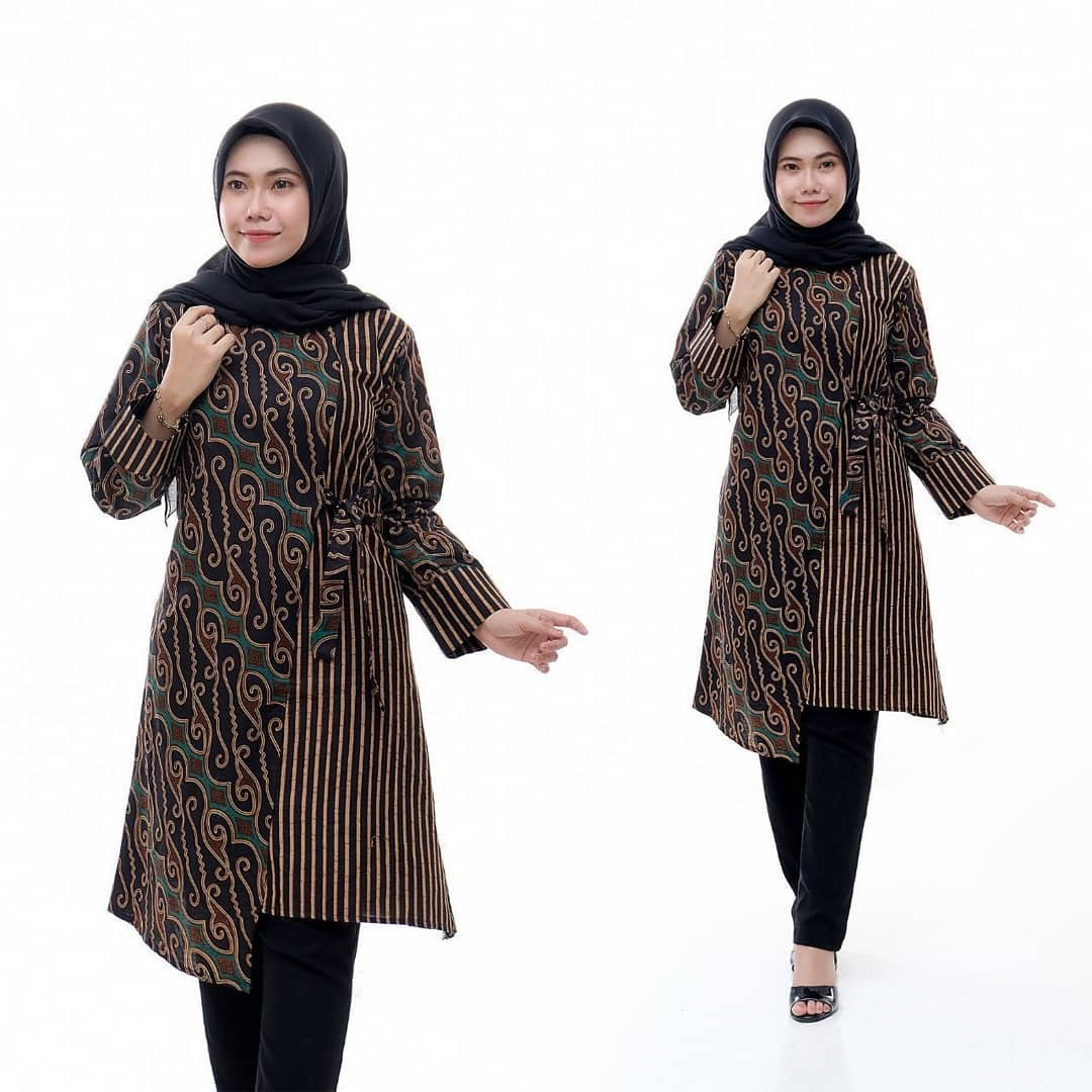 Baju Batik Tunik