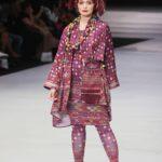 Baju batik kombinasi motif dan bentuk
