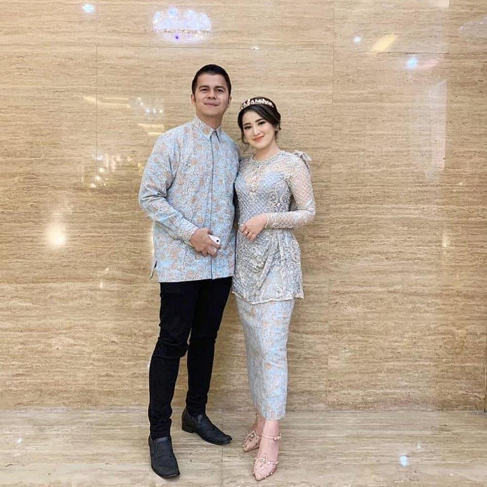 Batik Couple Dress Brokat