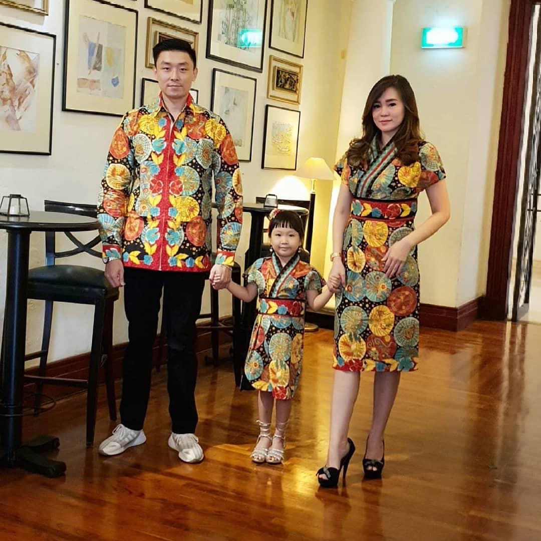 Batik Couple Keluarga Kimono