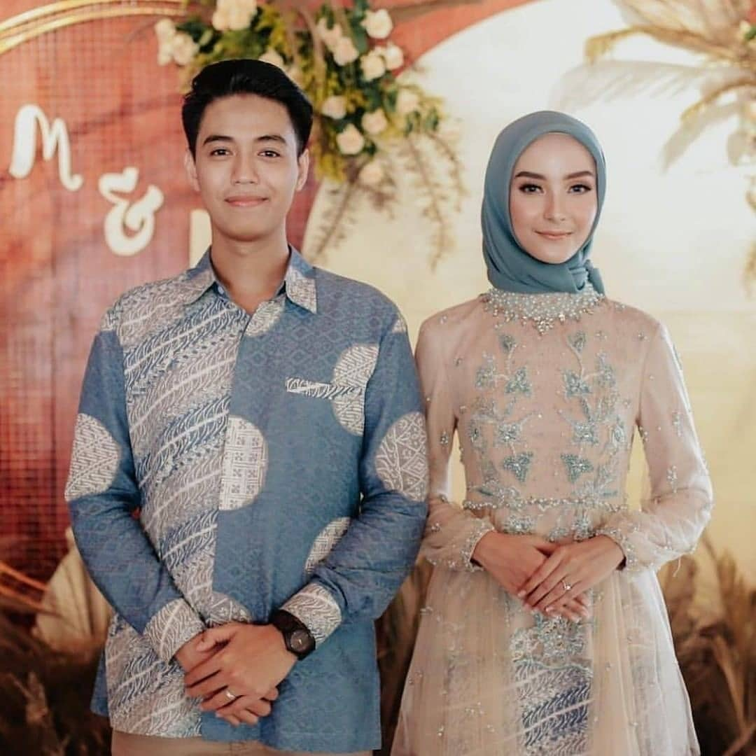 Batik Couple Long Dress Tunik