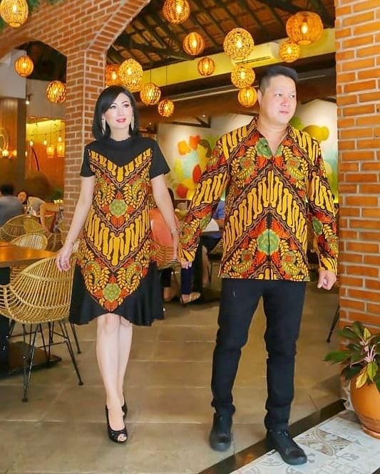 Batik Couple Parang Piramida