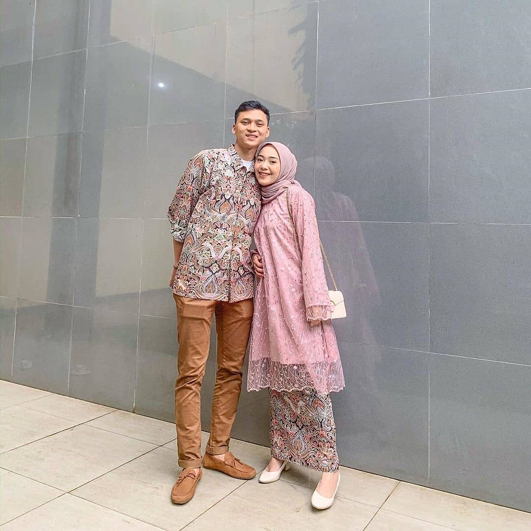 Batik Couple Tunik Brokat