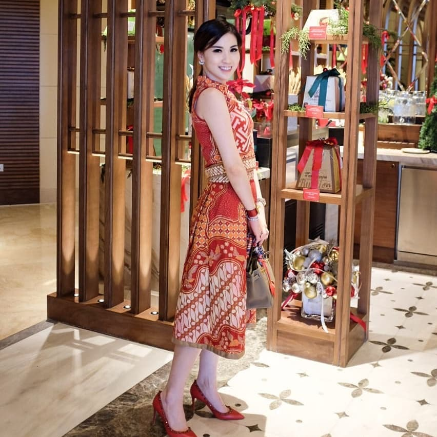 Batik model A-Line Press Body