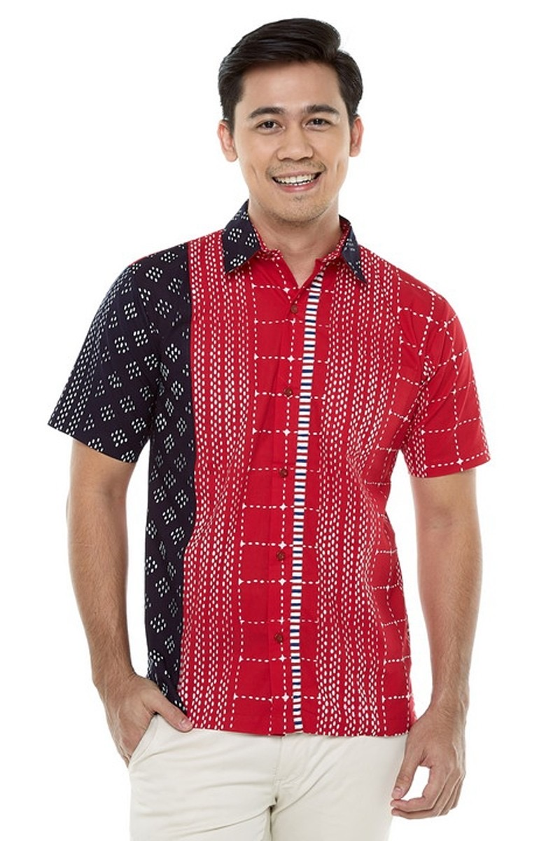 35+ Model Baju Batik Pria Kombinasi Modern Terbaru 2020