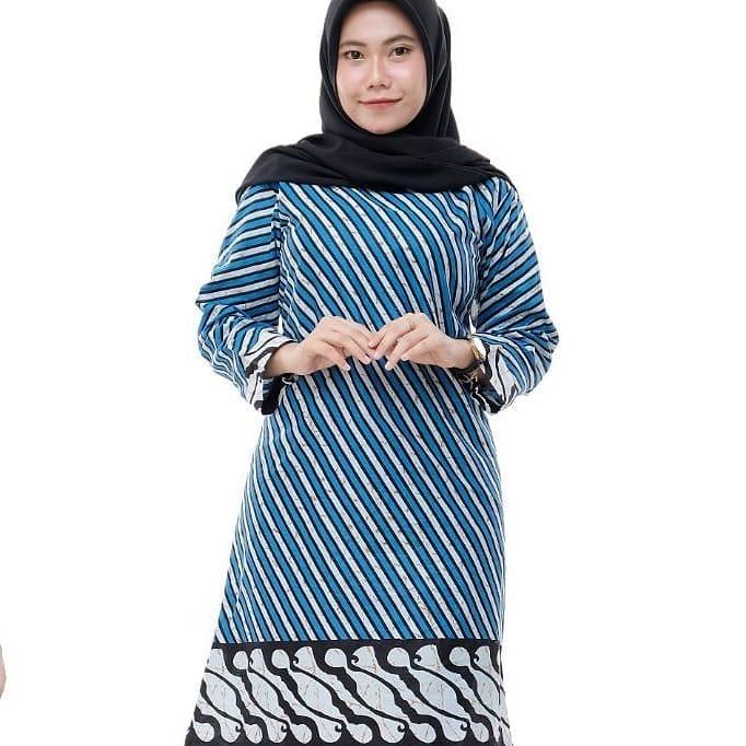 Blus Tunik Batik