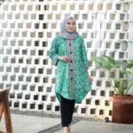 Desain Batik Tunik