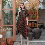 Dress batik katun lilit