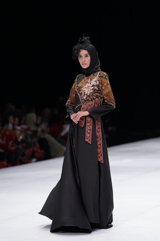 Gamis Atasan Batik Elegan