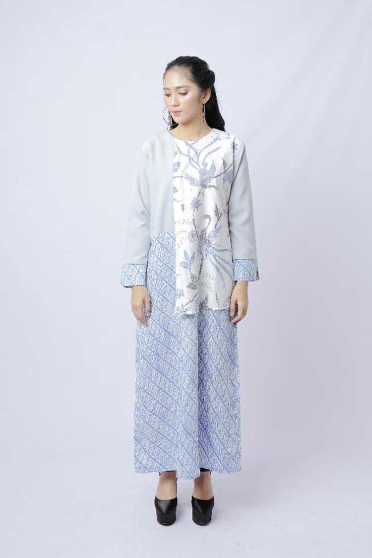Gamis motif batik merak-parangkusumo