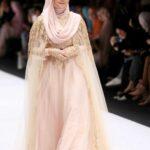 Gaun pesta muslimah kebaya