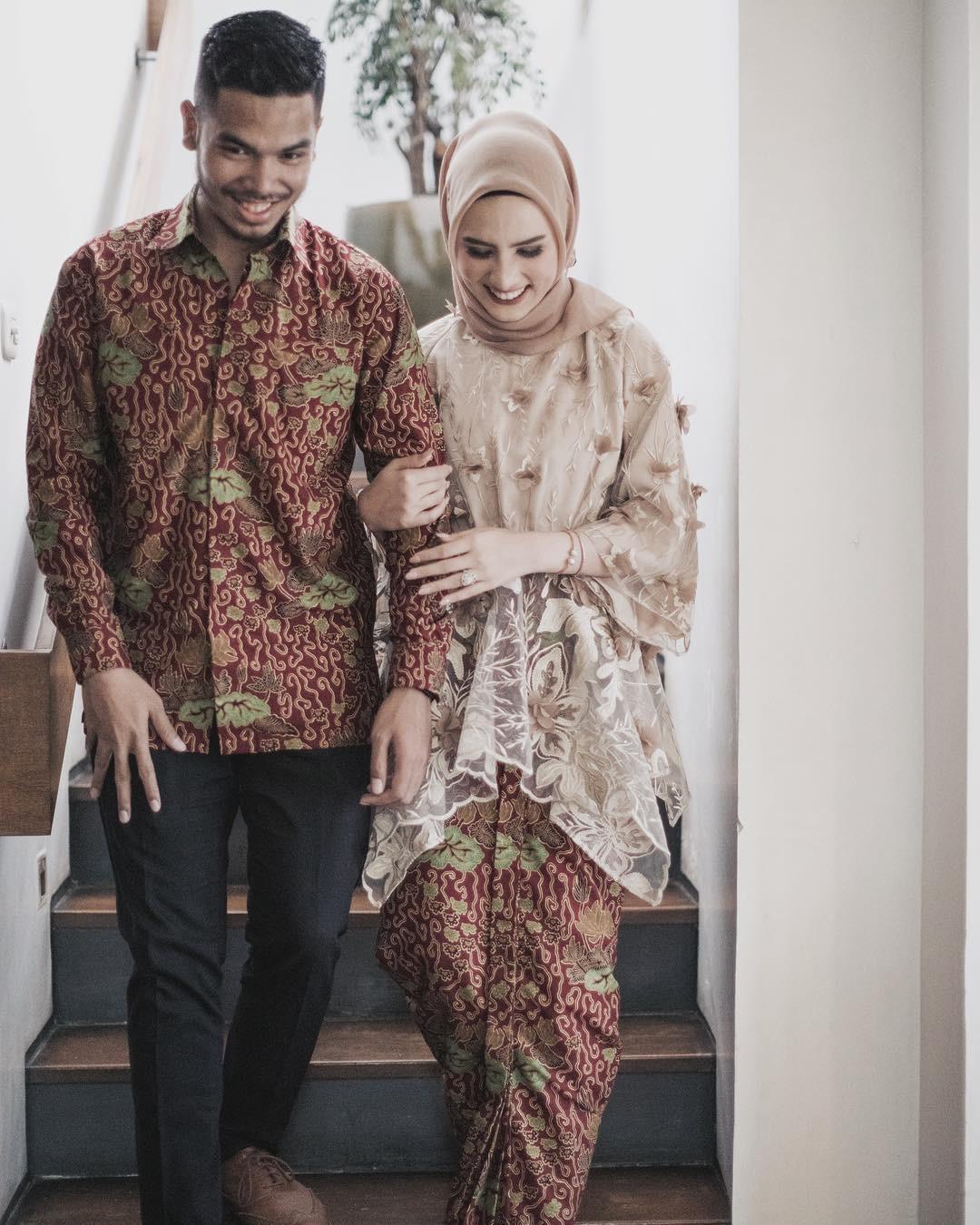 Kebaya Batik Muslim Modern Couple