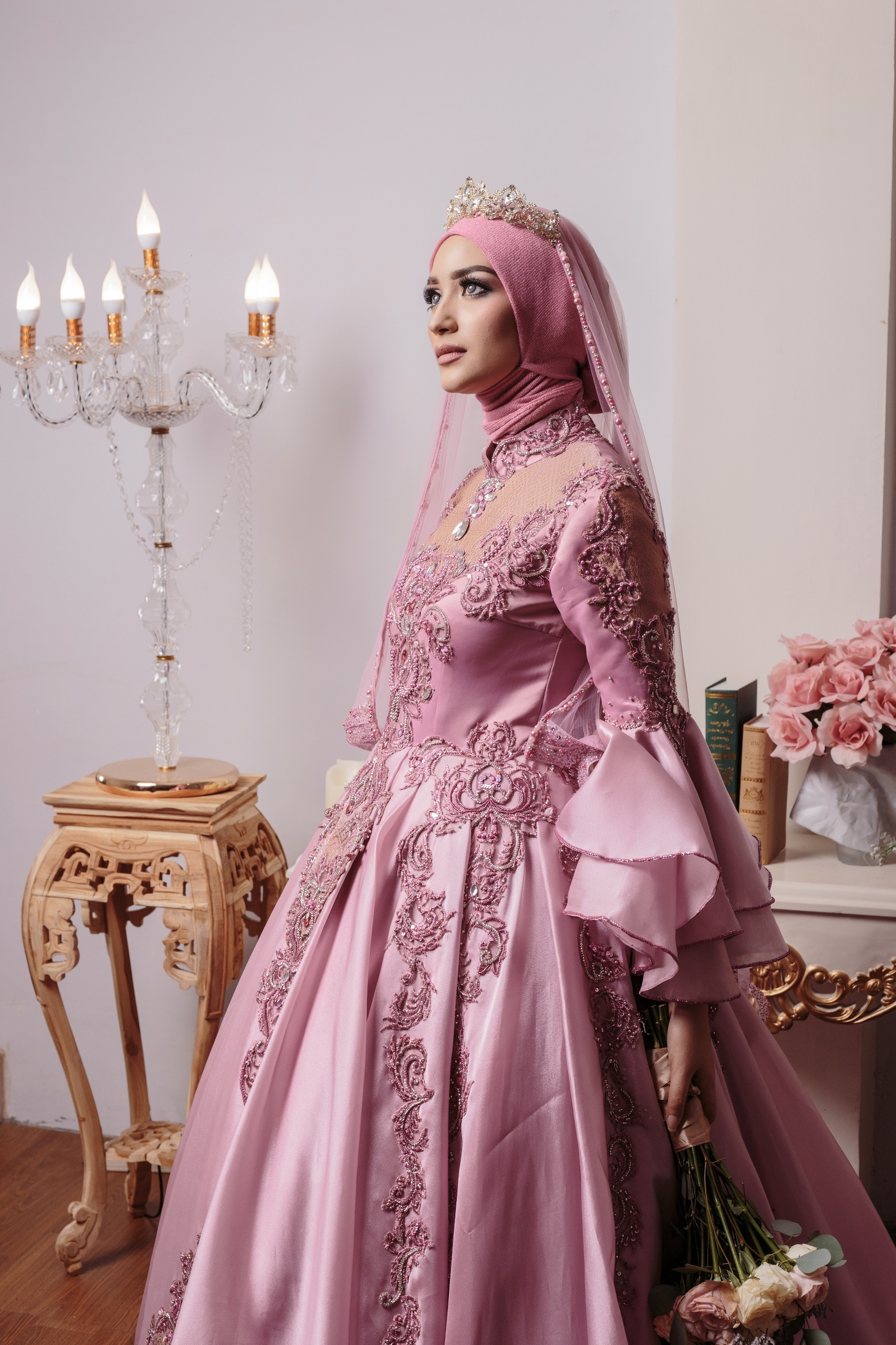 Kebaya Gaun Muslim