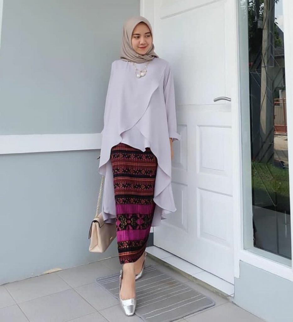 Kebaya Kartini Hijab Simple