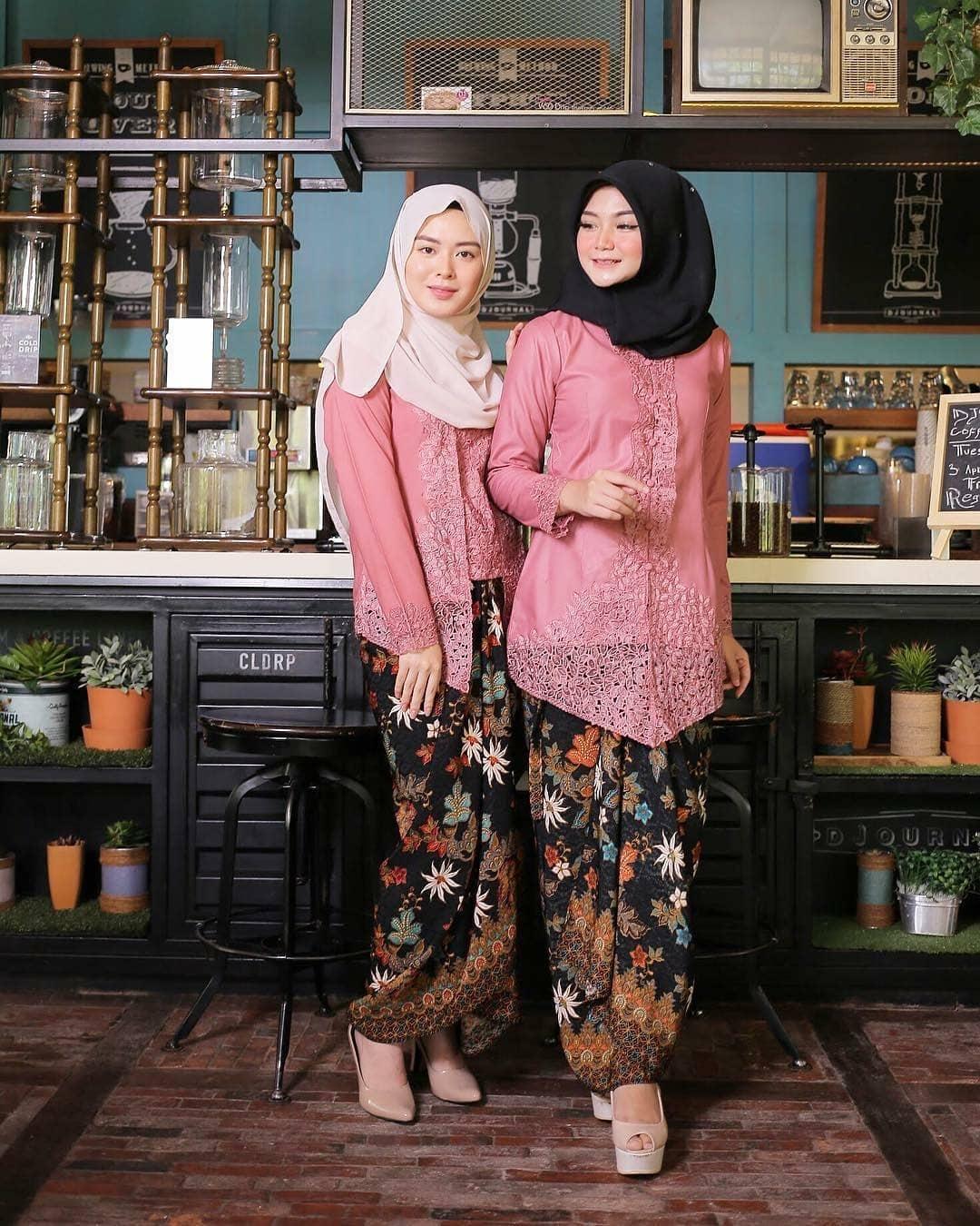 Kebaya Kartini Muslim Simple