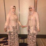 Kebaya Muslim Brokat Kombinasi Batik