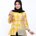 Model Atasan Tunik Batik