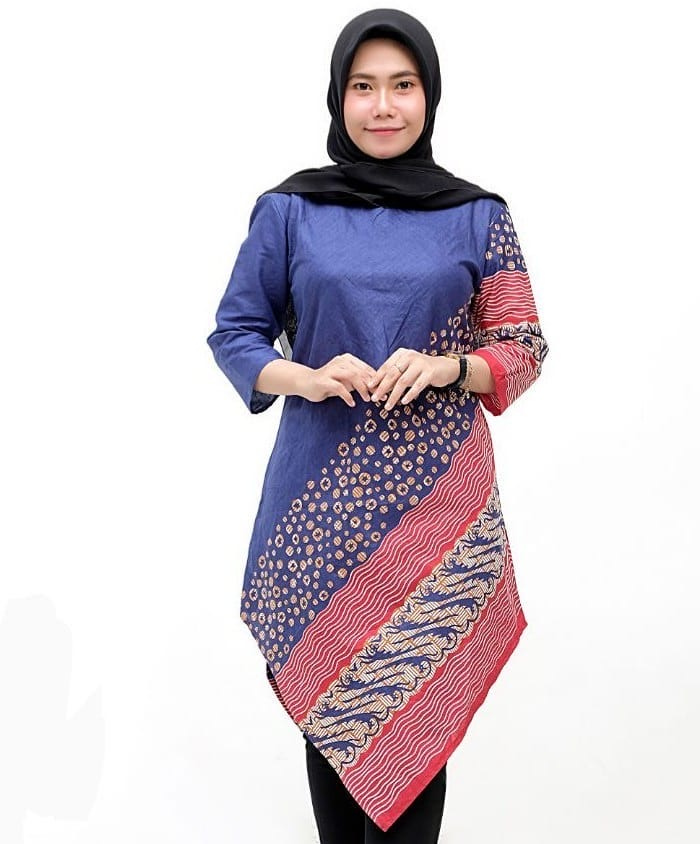 Model Baju Batik Tunik