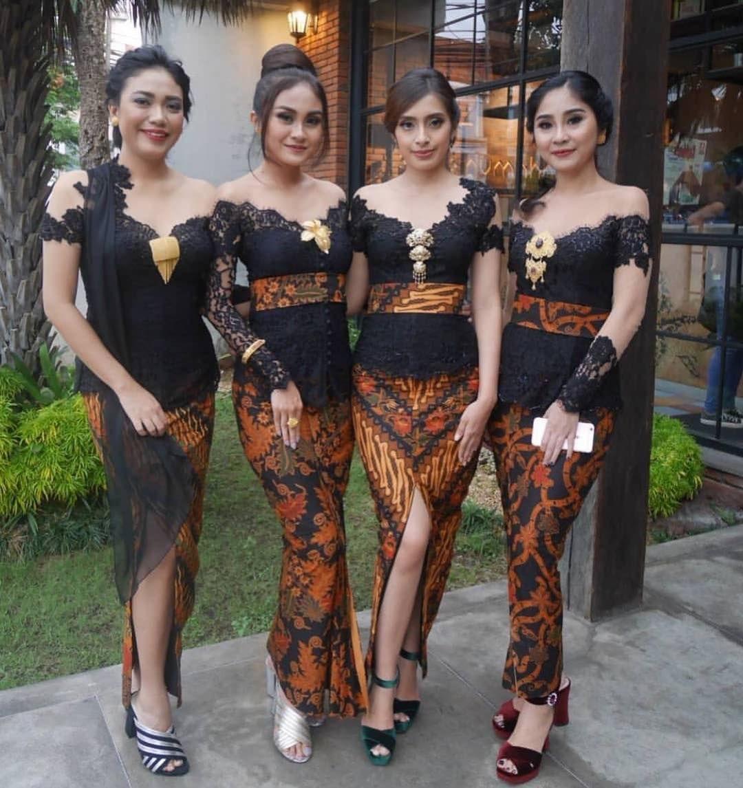 Model Baju Kebaya Bahan Batik