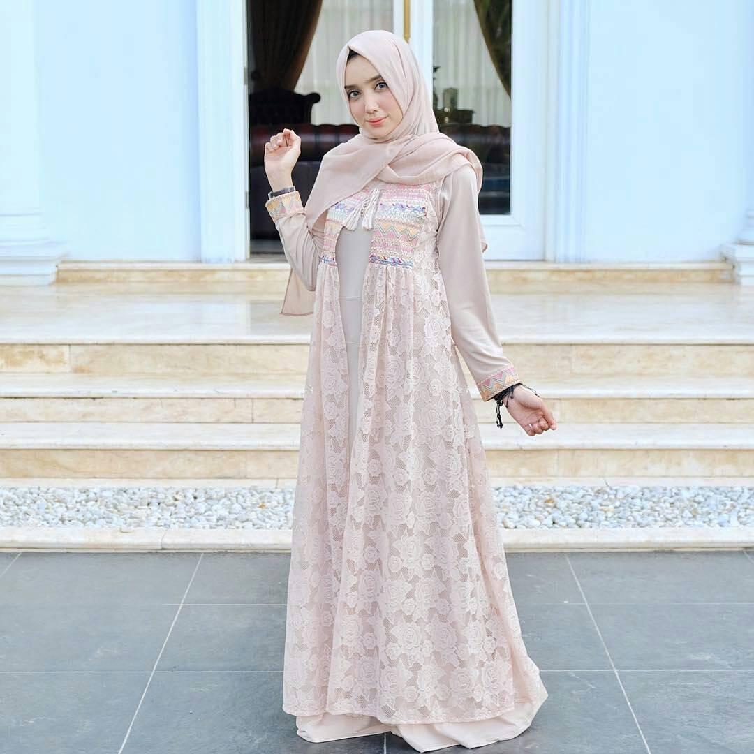 Model Baju Kebaya Muslim Untuk Orang Gemuk