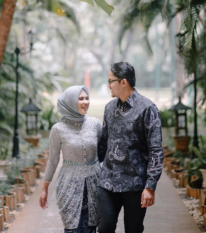 Model Batik Couple Brokat Tunik