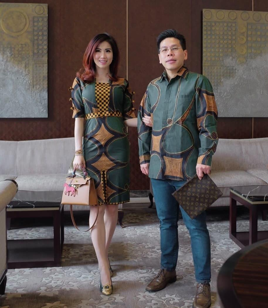 Model Batik Couple Elegan
