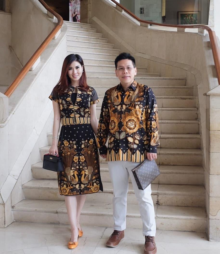 Model Batik Couple Motif Angsa