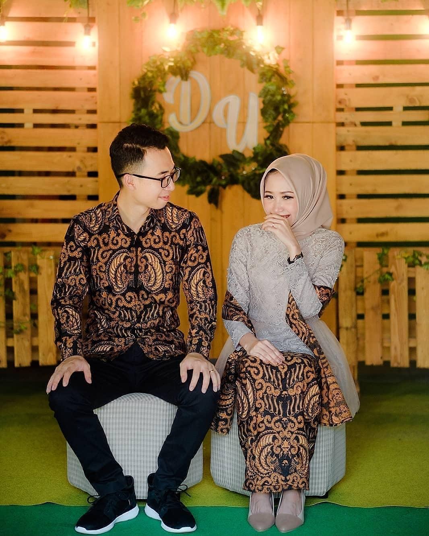Model Batik Couple Motif Keraton