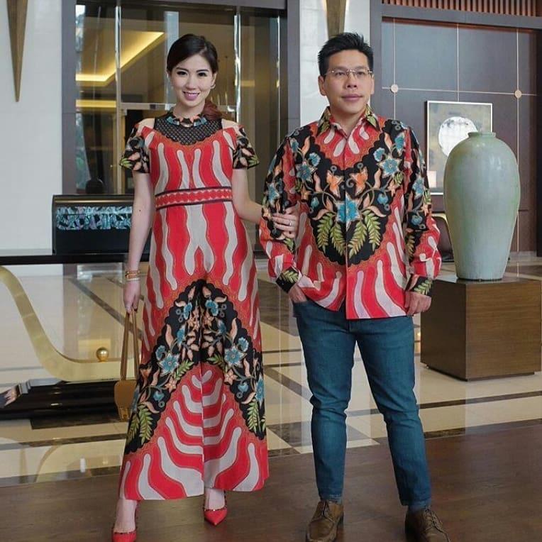 Model Batik Sarimbit Loreng