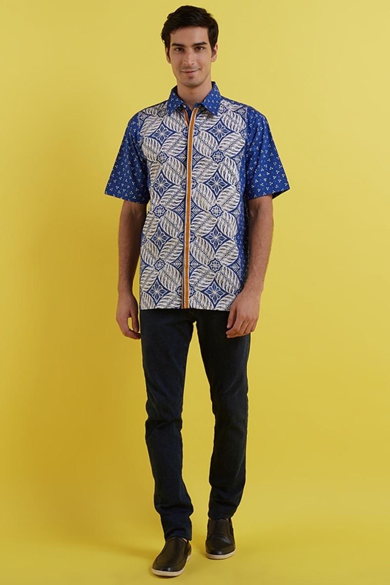 Model Batik Untuk Pria Acara Semi-formal
