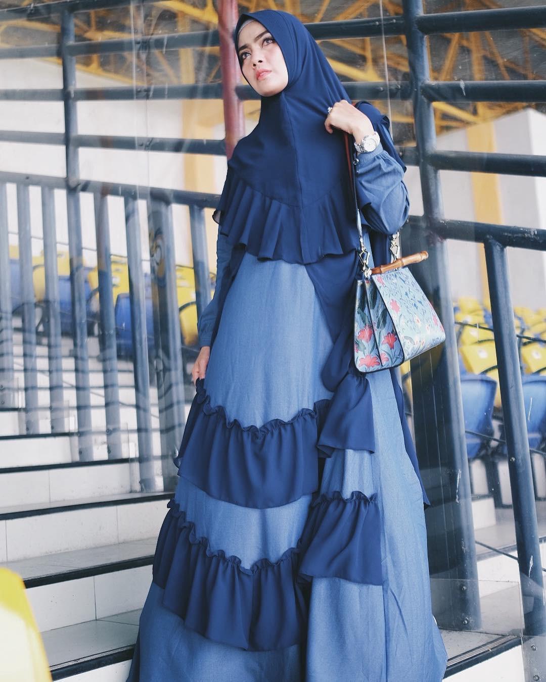 Model Dress Kebaya Untuk Orang Gemuk