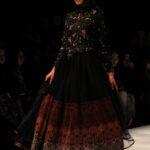 Model Gamis Batik Kombinasi Brokat