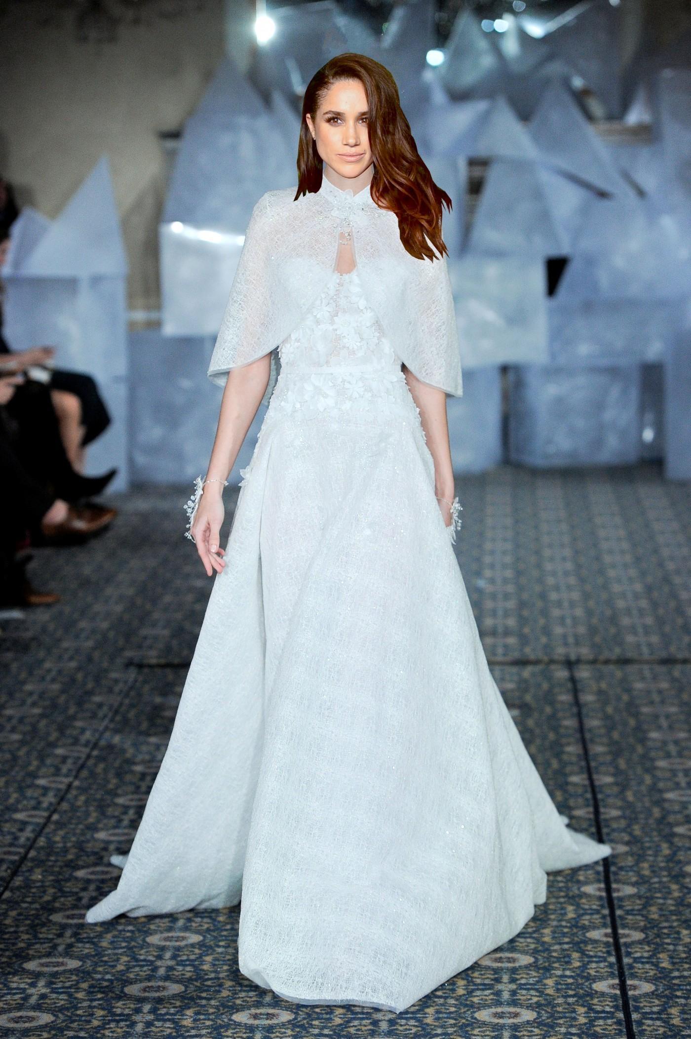 Model Gaun Kebaya Modern Warna Putih