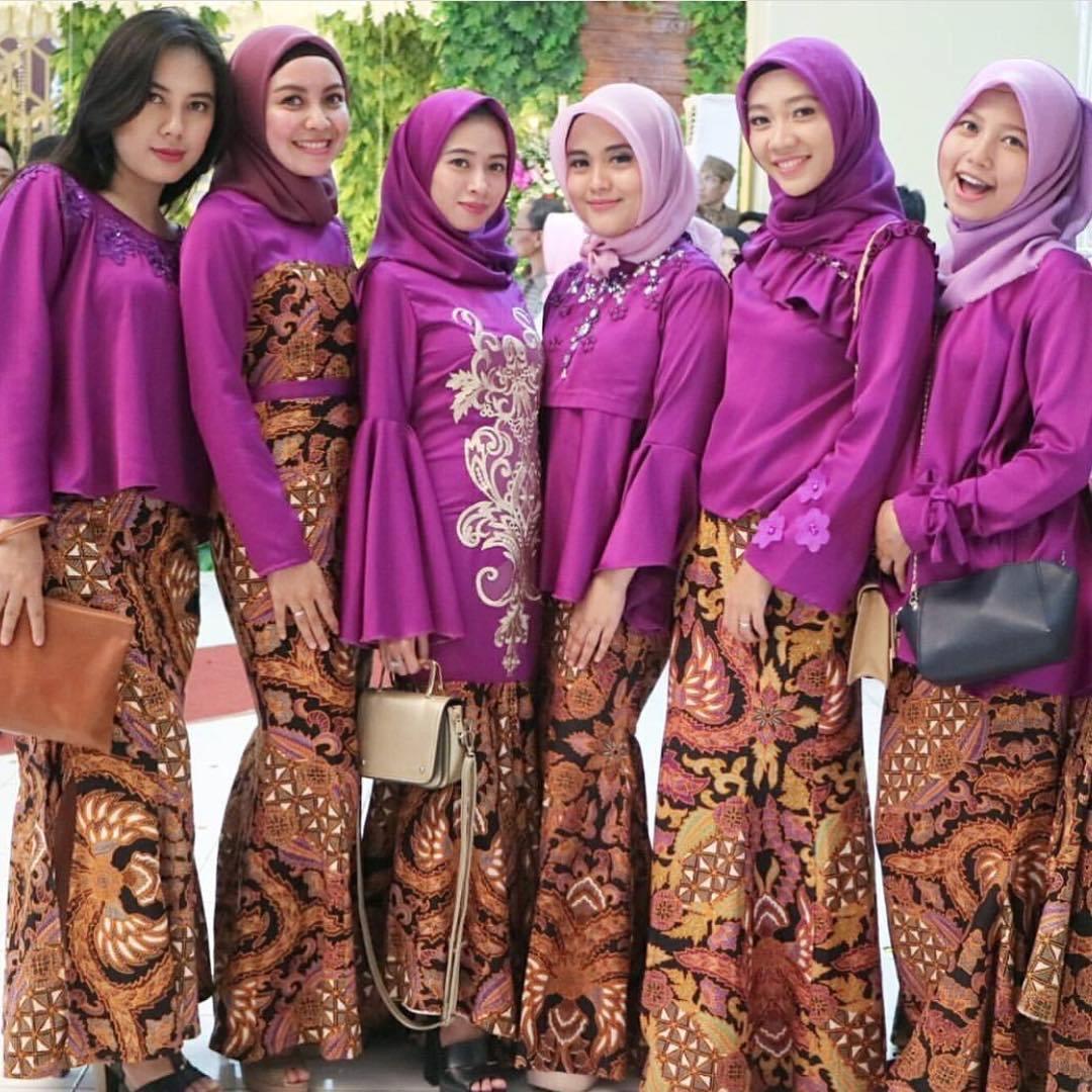 Model Kebaya Batik untuk Pesta Kondangan