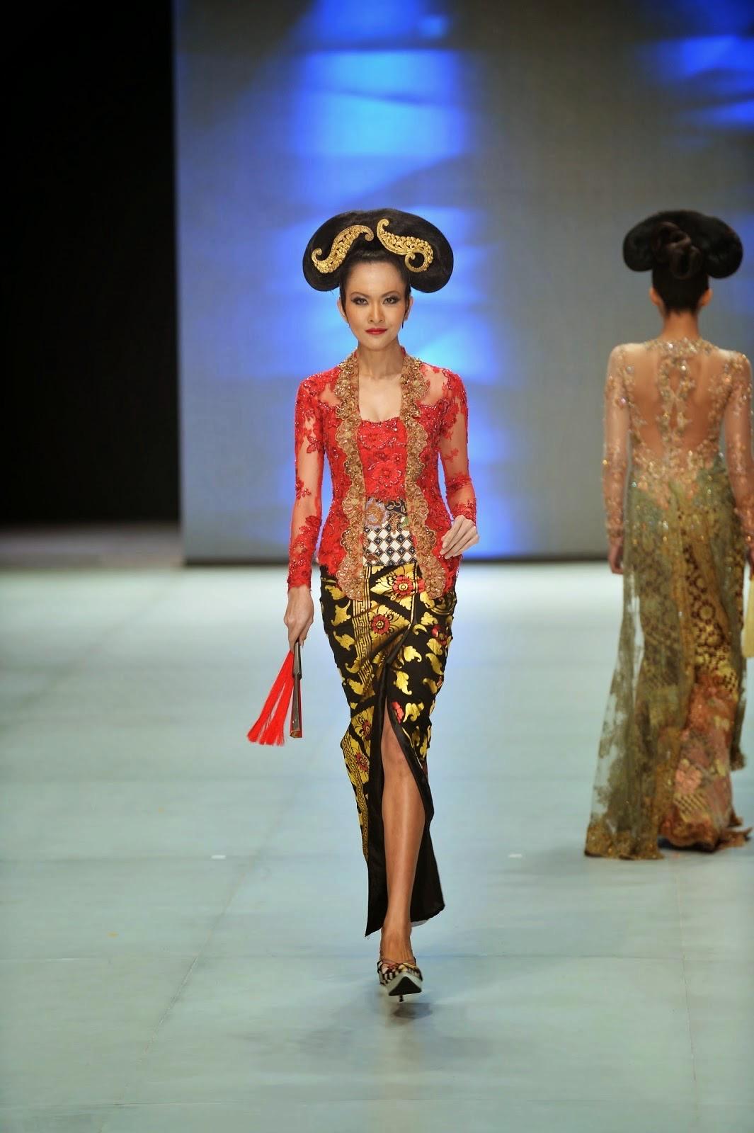 Model Kebaya Kartini Klasik