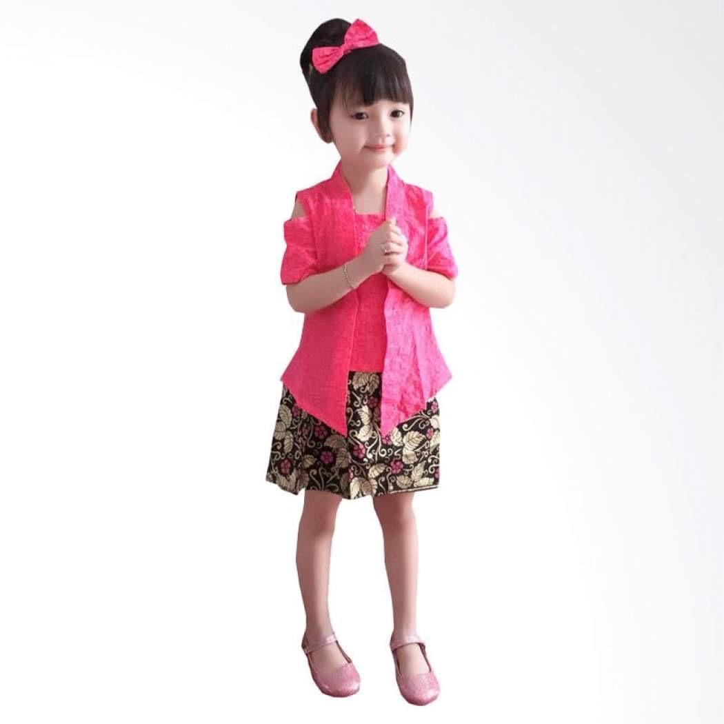 Model Kebaya Modern Anak Lengan Pendek