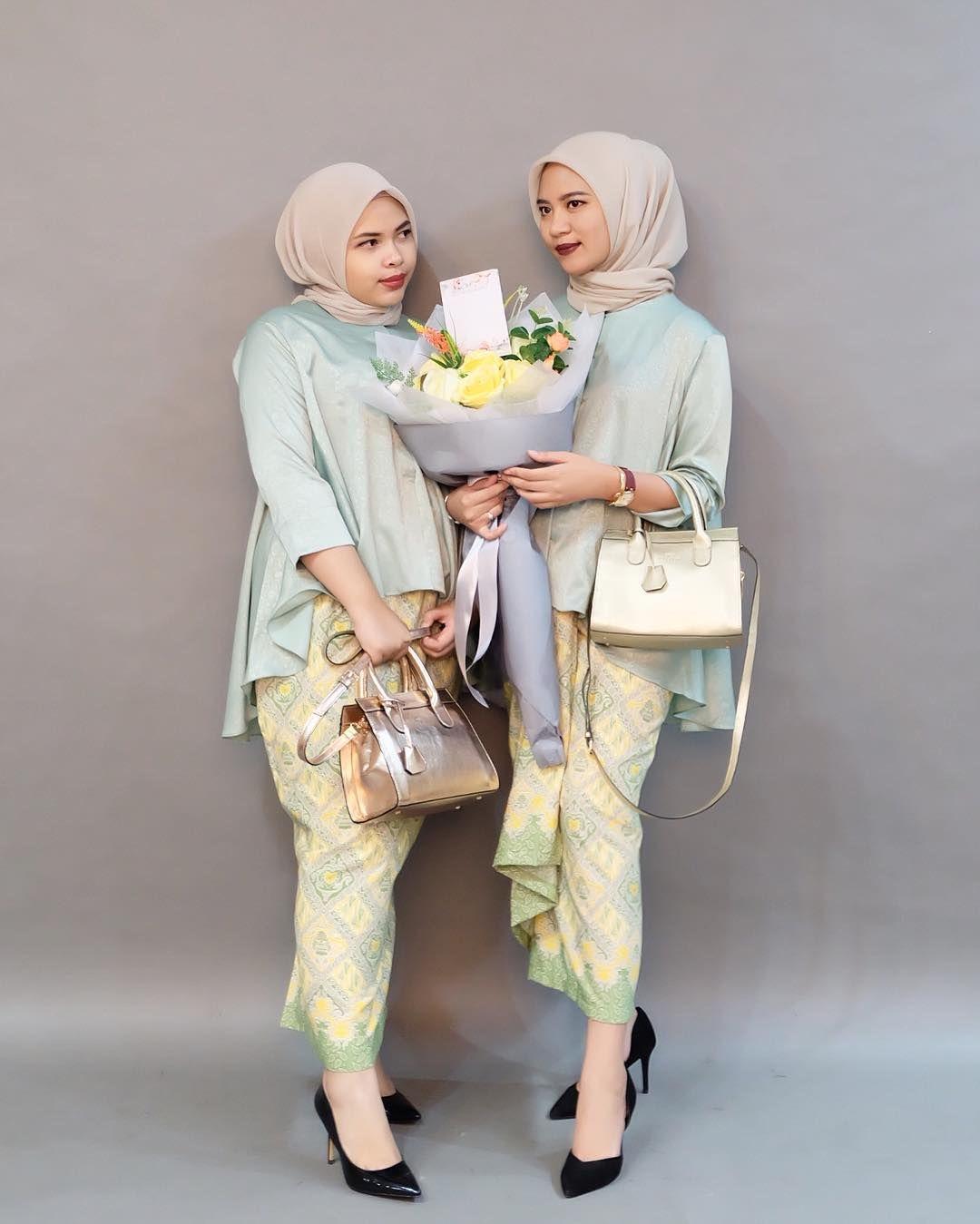 Model Kebaya Modern Muslim Untuk Orang Gemuk